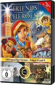 DVD: Friends & Heroes (Folge 8 + 9)