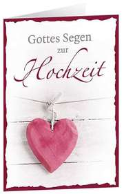 CD-Card: Gottes Segen zur Hochzeit