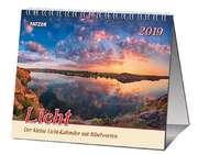 Licht 2019 - 2 in 1-Tischkalender