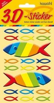 3D-Sticker: Ichthys