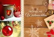 Fröhliche Weihnachten - Gutscheinbuch