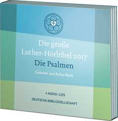 4CD: Luther-Hörbibel 2017: Die Psalmen