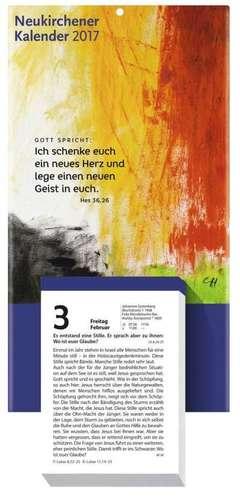 Neukirchener Abreißkalender 2017