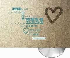 Jahreslosung 2017 CD-Card - Herz Vintage