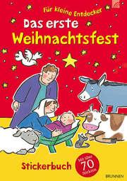 Das erste Weihnachtsfest - Stickerbuch